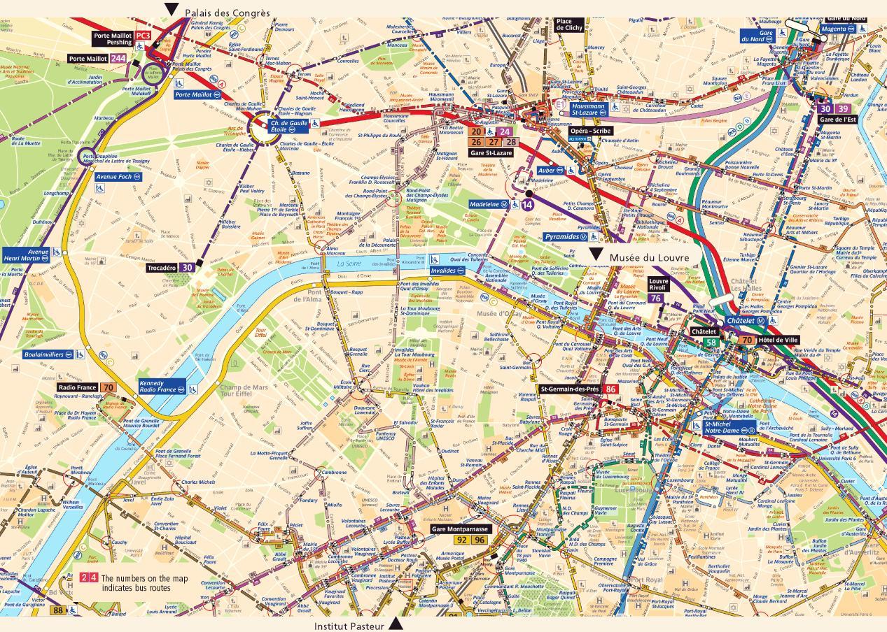 Pariisin Kartta